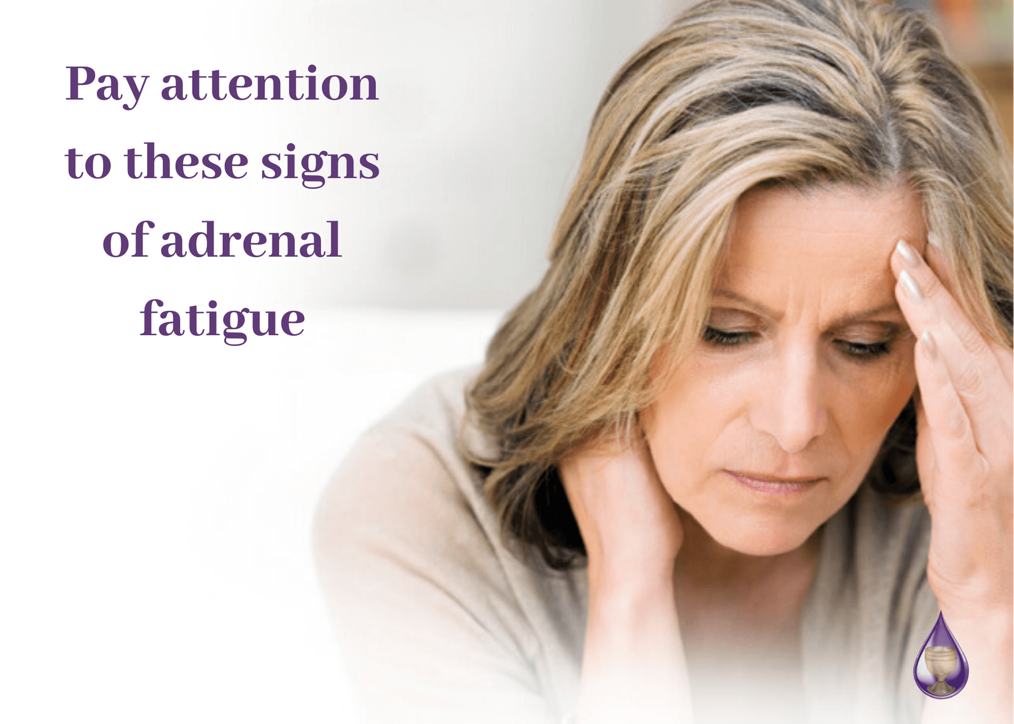 pay attention to these signs of adrenal fatigue