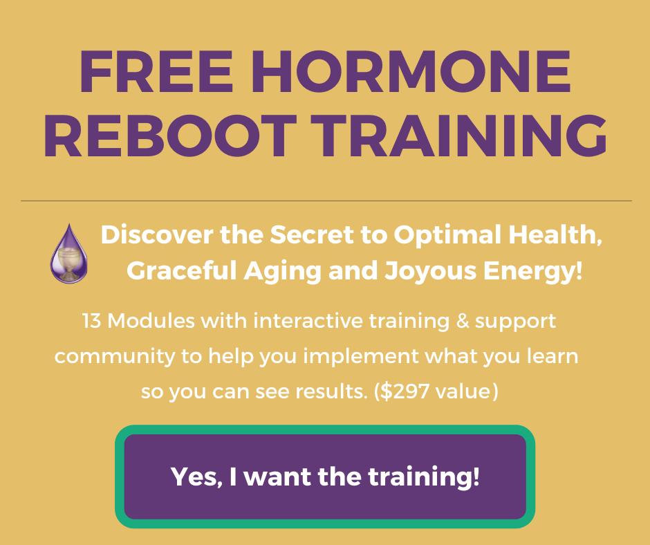 free hormone reboot training