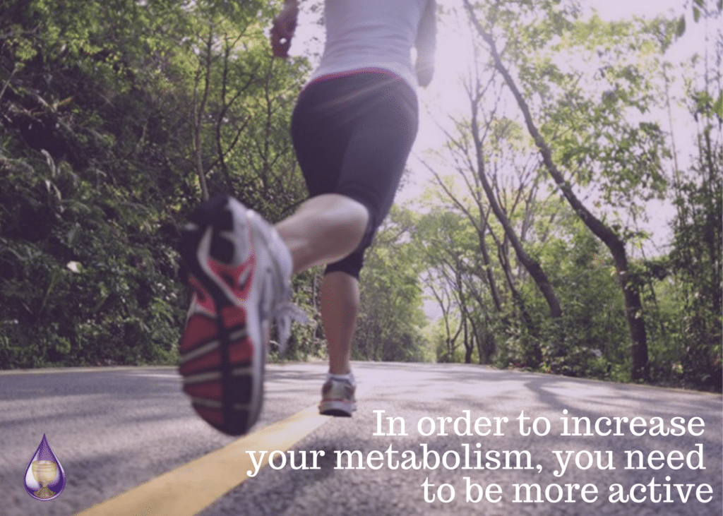 increase your metabolism be more active