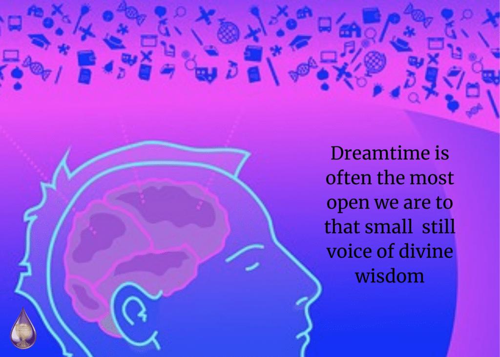 still voice of divine wisdom
