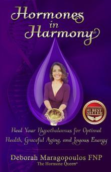 Hormones in Harmony by Deborah Maragopoulos FNP Book Cover