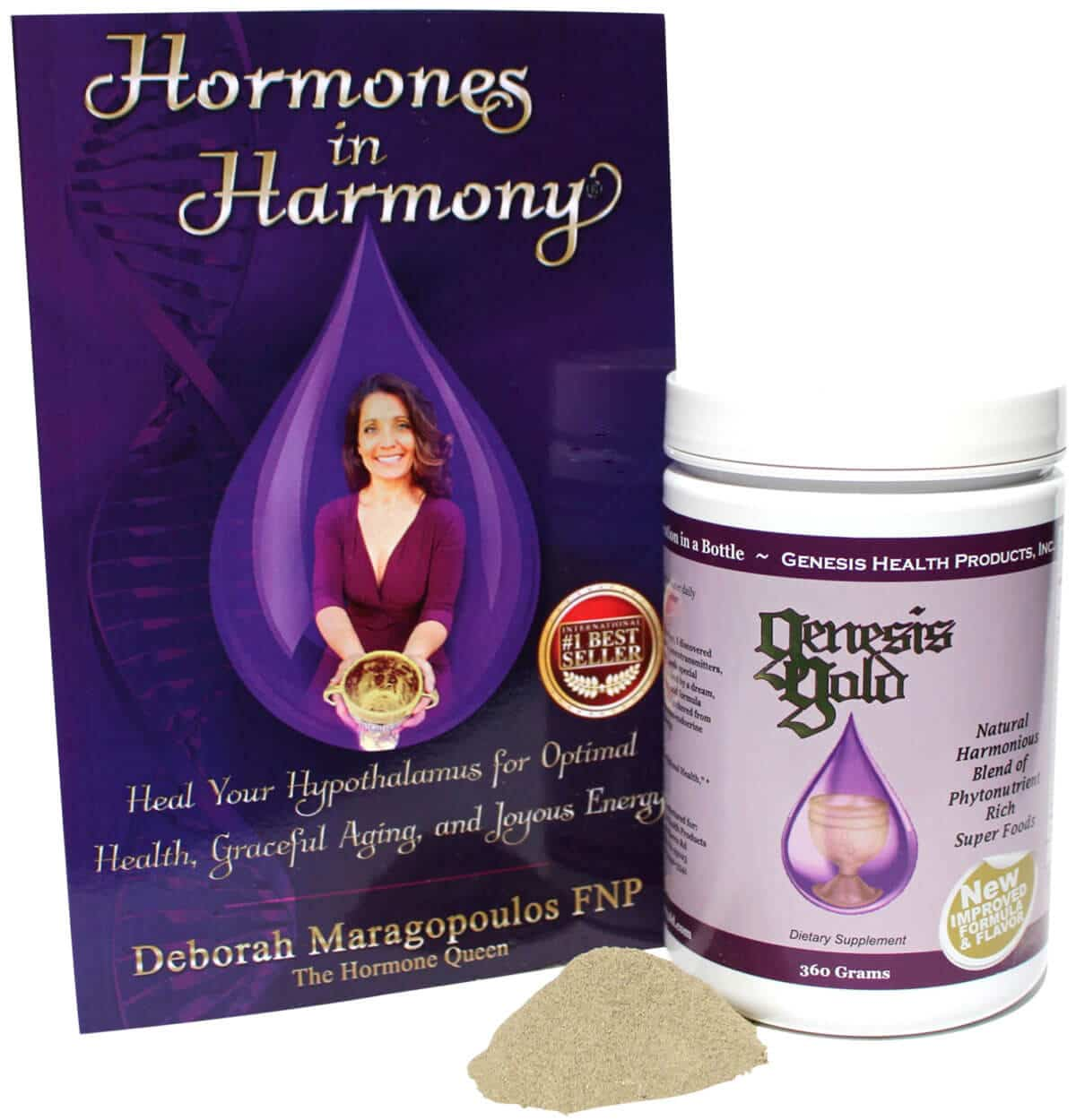 Hormones in Harmony book & Genesis Gold