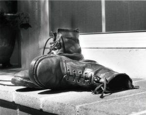 boots outside