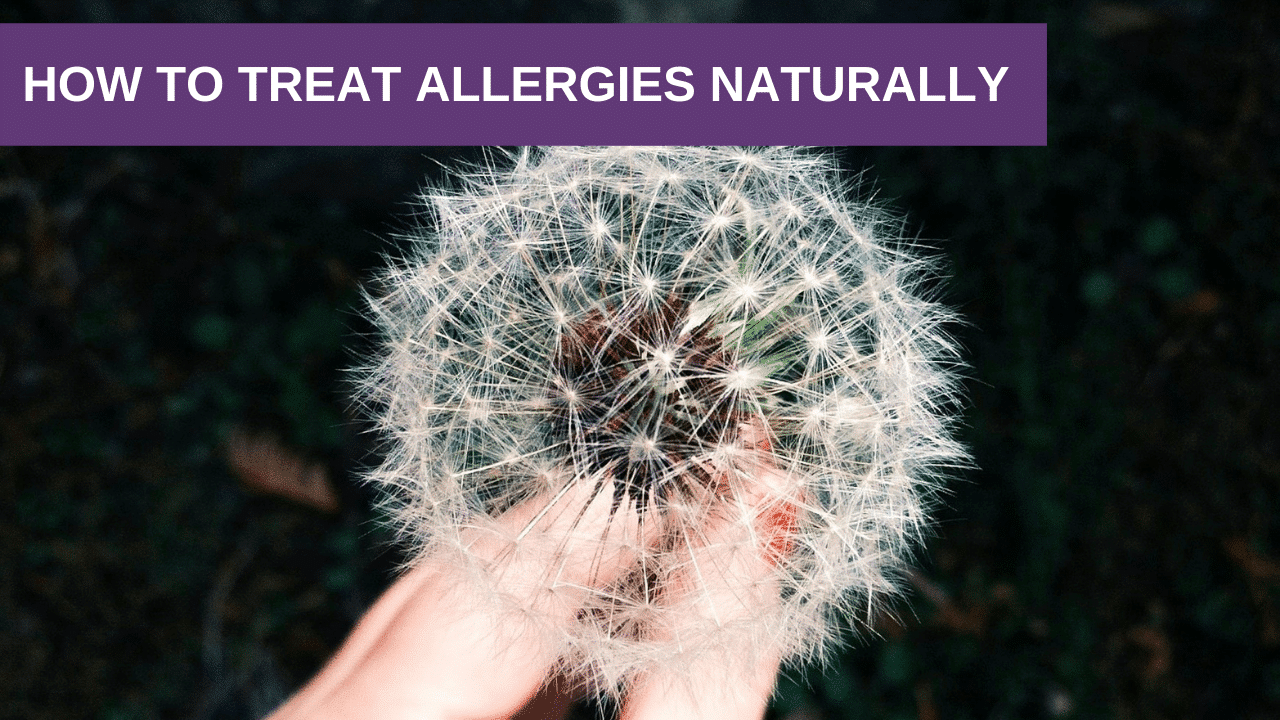 How to Treat Allergies Naturally