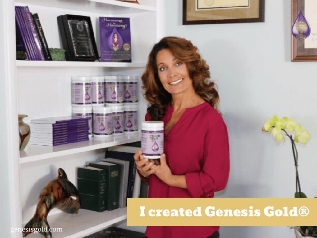 Deborah creates Gensis Gold