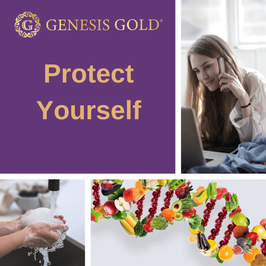 Genesis gold protect yourself corona