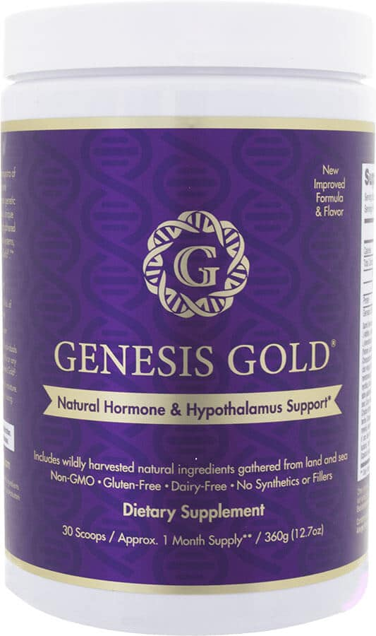 Genesis Gold Natural Hormone & Hypothalamus Supplement