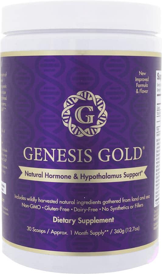 Genesis Gold Natural Hormone & Hypothalamus Supplement