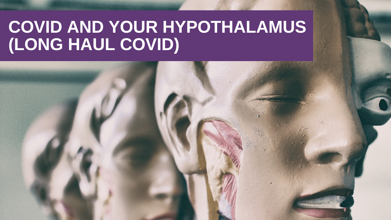 Covid and Your Hypothalamus (Long Haul Covid)