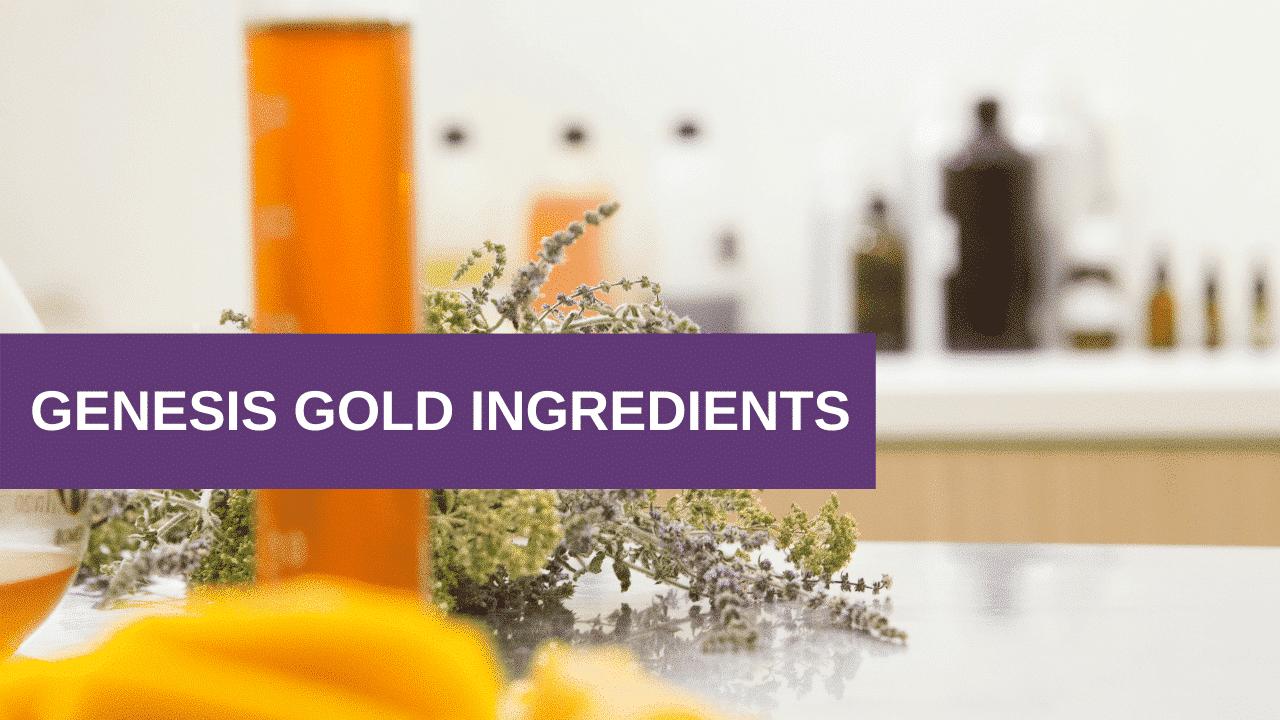 Genesis Gold Ingredients