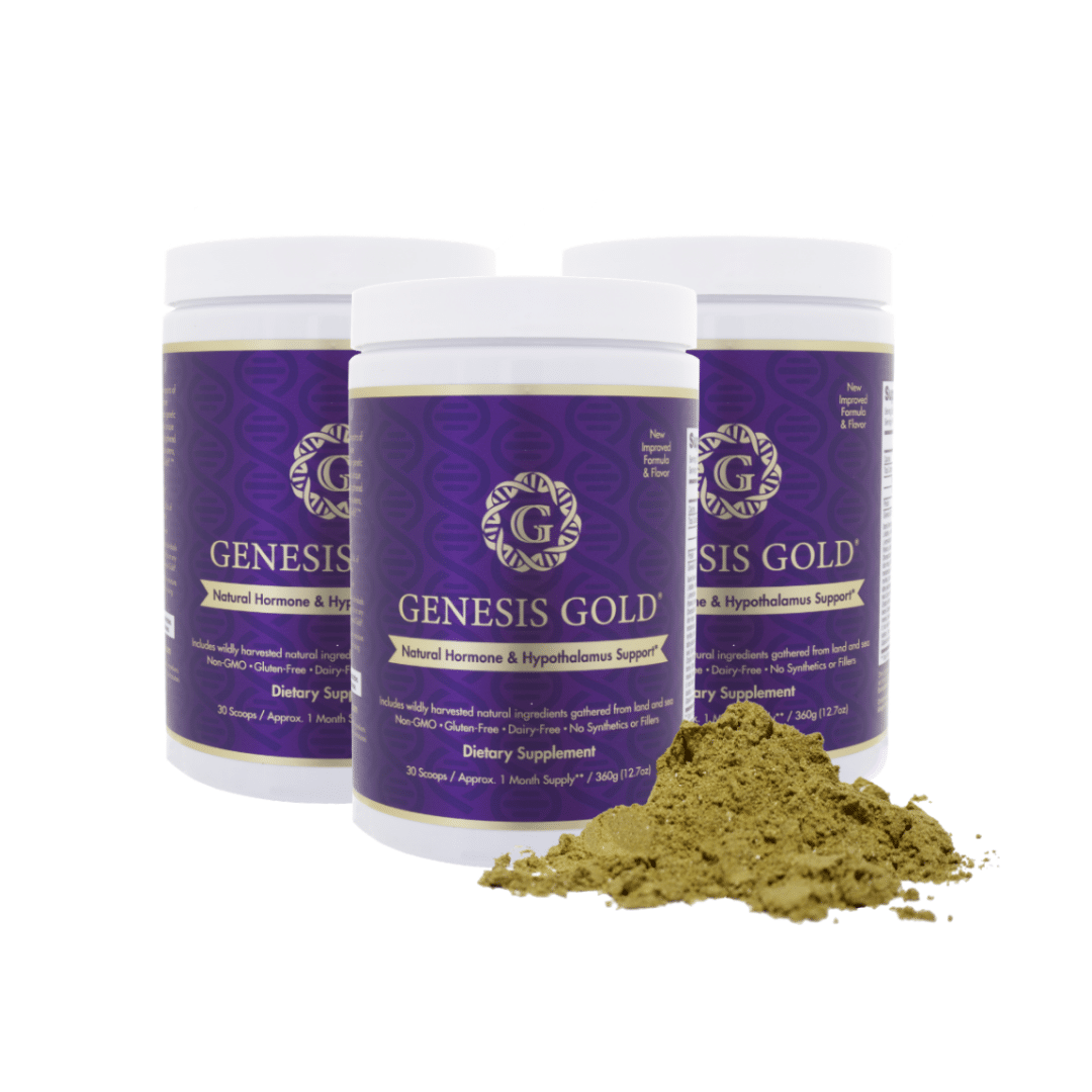 Genesis Gold helps to naturally heal the hypothalamus