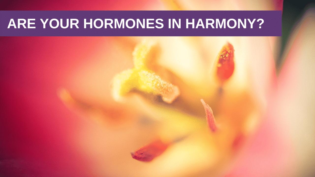 Are your Hormones in Harmony?