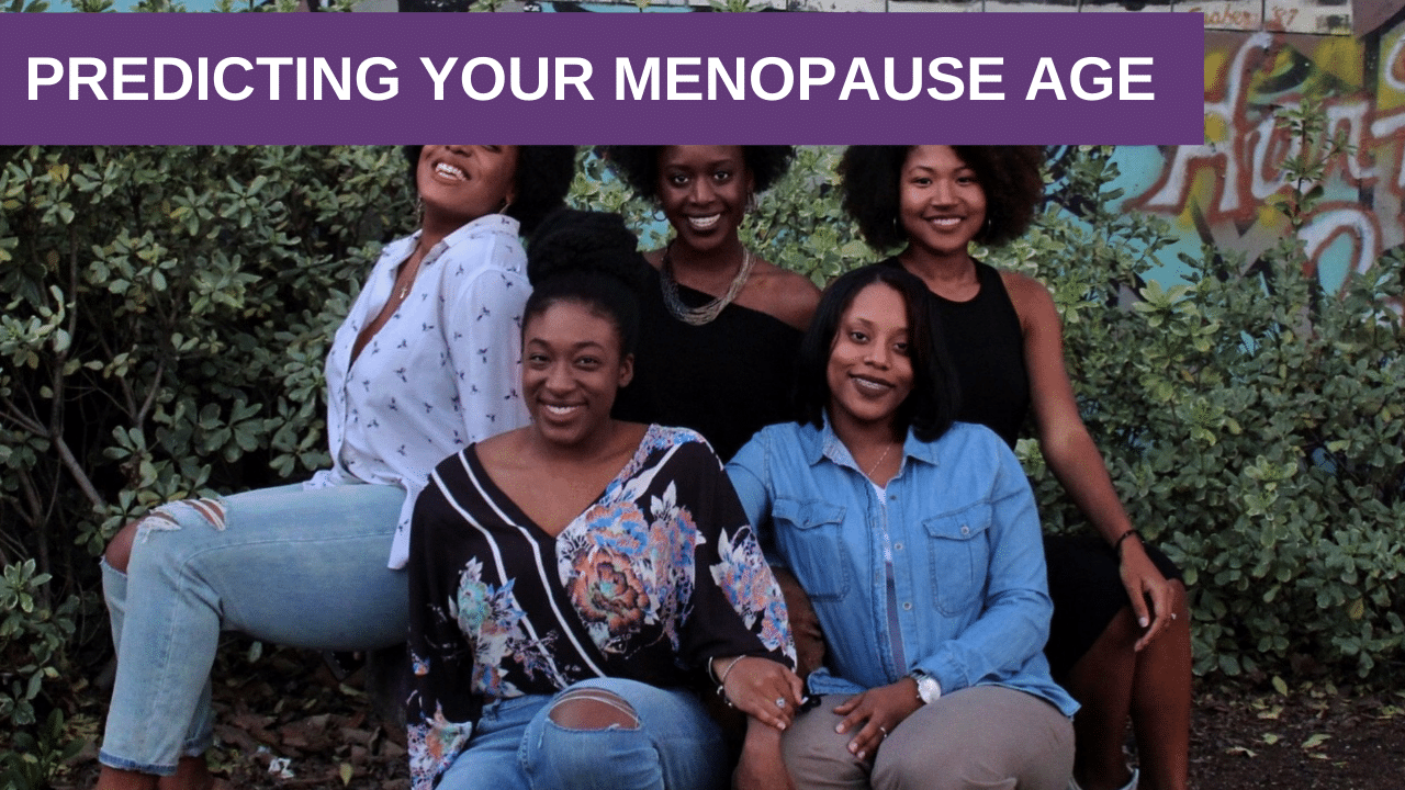Predicting Your Menopause Age